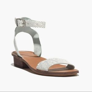 MADEWELL Veronique leather ankle strap sandal